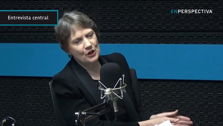 """Helen Clark, candidata a secretaria general de la ONU: """"Debemos anticipar y prevenir las crisis»; «desplegar fuerzas de paz es admitir que hicimos las cosas muy mal»"""