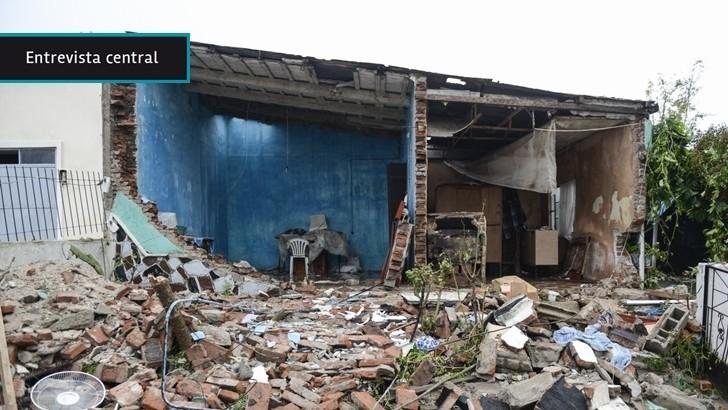 """Reconstrucción de casas en Dolores: El objetivo es """"atender a las familias que no pueden hacer frente a esta desgracia que pasó"""", dice representante del Ministerio de Vivienda"""