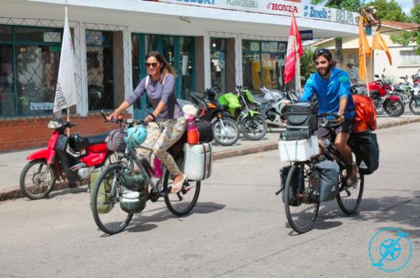 De Uruguay a México en bicicleta