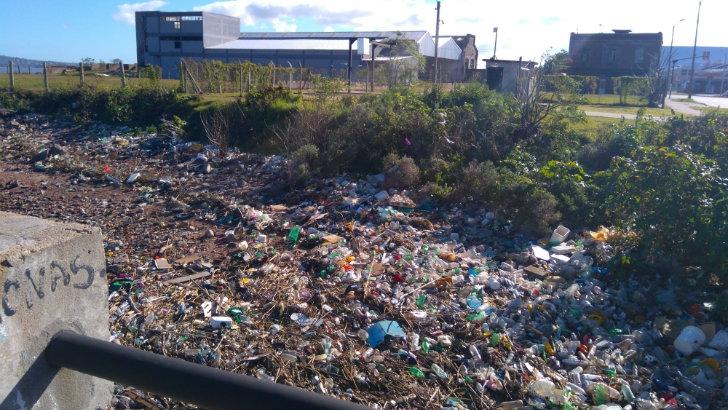 El problema de la basura en la zona de Rambla Edison
