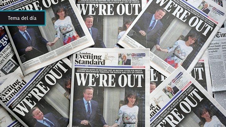 <em>Brexit</em>: Unión Europea en jaque tras salida del Reino Unido y renuncia del primer ministro David Cameron