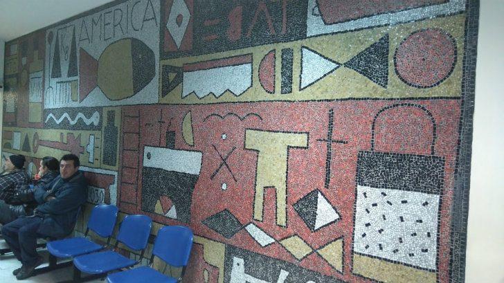 Sobre el estado de los murales del Sanatorio 1 del Casmu