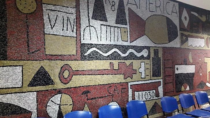 ¿En qué estado se encuentran los murales de los sanatorios del Casmu?