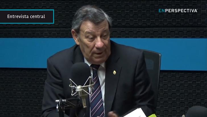 """Canciller Rodolfo Nin Novoa: """"Lo jurídico hoy es entregar la presidencia del Mercosur a Venezuela"""" porque allí """"no hay ruptura institucional"""""""