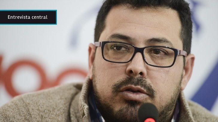 """Alejandro Sánchez (candidato a la presidencia del FA): """"El principal aprendizaje de la campaña es que hay que apostar a que los frenteamplistas retomen el control"""" del partido"""