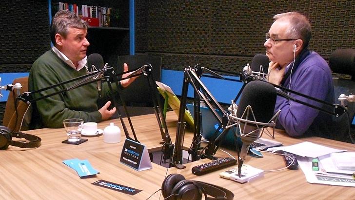 Entrevista central, martes 9 de agosto: Javier Gomensoro