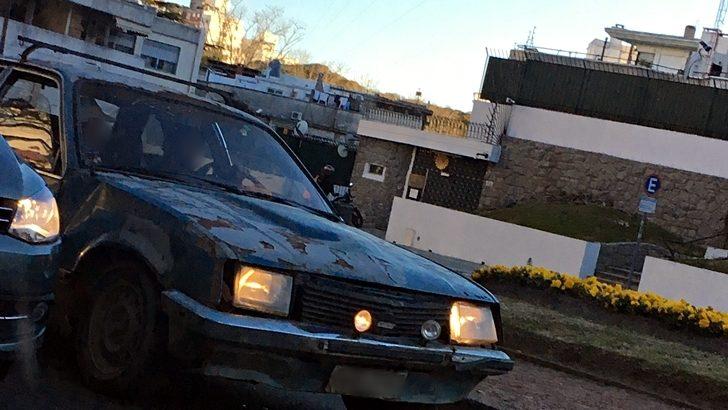 Sobre la circulación de autos en mal estado por las calles de Montevideo