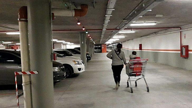 Nuevo estacionamiento subterráneo en Montevideo Shopping construido con sistema inédito en Uruguay