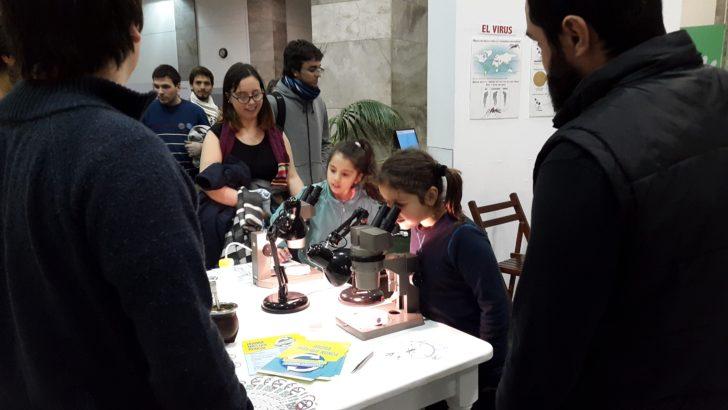Facultad de Ciencias instaló sus Institutos en el atrio de la Intendencia