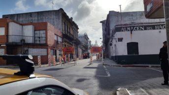Obras en Ciudad Vieja modificarán el tránsito durante cuatro meses