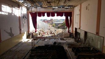 <em>Solidaridad con Dolores</em><br>Campaña busca fondos para reconstruir el Teatro Paz y Unión