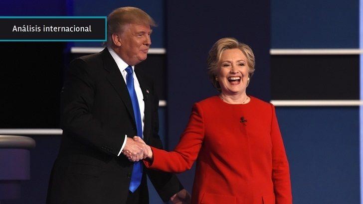 EEUU: Clinton logró incomodar a Trump y se quedó con el primer debate presidencial