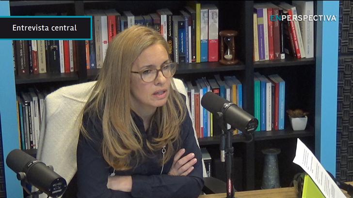«No vamos a confundirnos con celebraciones a esta altura; estamos mirando hacia adelante», dice la presidenta de Ancap, Marta Jara, sobre las ganancias del primer semestre