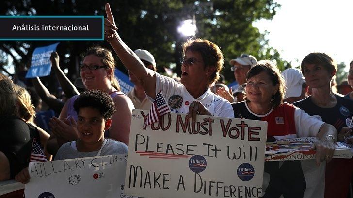 <em>Elecciones en EEUU</em><br>Clinton tiene más posibilidades de derrotar a Trump en Estados con mayor cantidad de electores