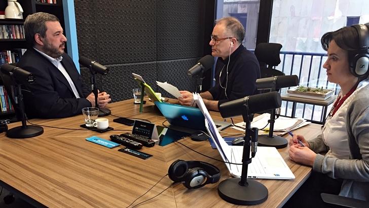 Entrevista central, lunes 24 de octubre: Mario Bergara