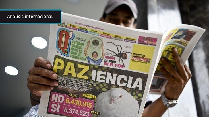 Colombia: Acuerdo entre Gobierno y las FARC fue rechazado en plebisicto del domingo pero ambas partes mantienen voluntad de lograr la paz