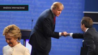 """EEUU: Electorado ya piensa en las """"heridas"""" que quedarán abiertas luego de las elecciones, tras tercer debate en el que Trump se """"alejó"""" de la Casa Blanca"""