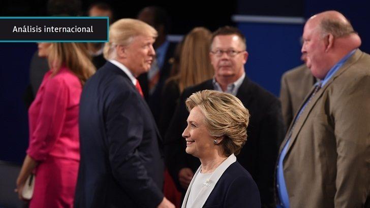 EEUU: Clinton se afianza en carrera por la Casa Blanca tras segundo debate con Trump centrado en escándalos personales