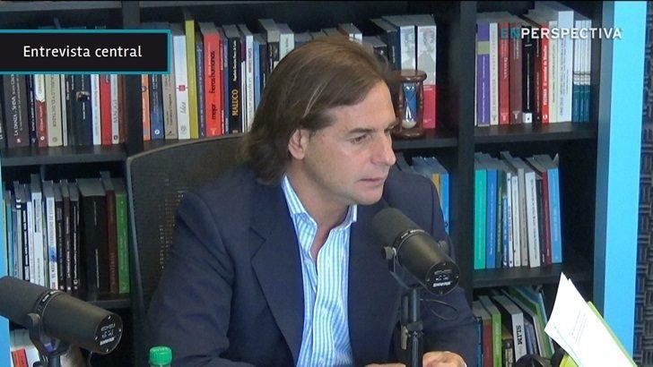 """Luis Lacalle Pou: """"Por supuesto que el Gobierno va a llegar al final del período, el tema es cómo termina la gente"""""""