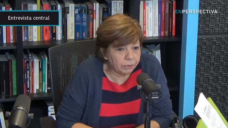 """Susana Pereyra (MPP): """"Cuando yo me metí"""" a dialogar con referentes de la barra de Peñarol """"el enfrentamiento entre hinchas y policías era un deporte"""", """"y eso se fue cortando"""""""