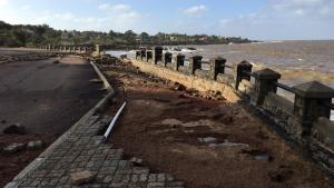 <em>Piriápolis</em><br>Roturas por ciclón quedarán arregladas a mediados de diciembre