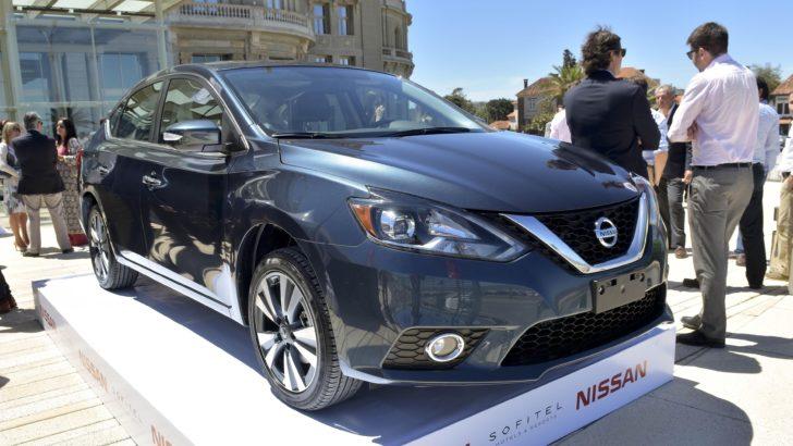 Nissan presentó el Sentra B17