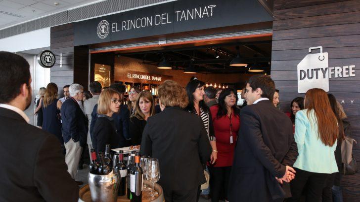 Uruguay sabe de vinos: Se inauguró El Rincón del Tannat en Aeropuerto de Carrasco