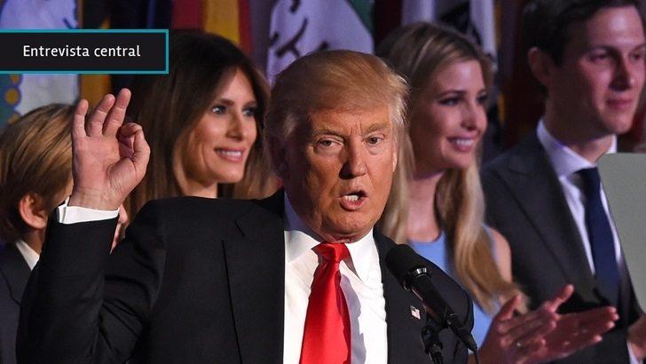 """Elecciones en EEUU: Triunfo de Trump es una """"bofetada al <em>establishment</em> político""""; a un Estado que """"le falló a su pueblo y no a las corporaciones"""""""