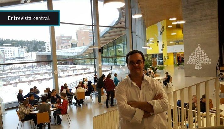 """Finlandia, un modelo de referencia en educación, le da a los docentes """"la confianza para trabajar como les parezca"""", dice el director del Centro Educativo Los Pinos desde Helsinki"""