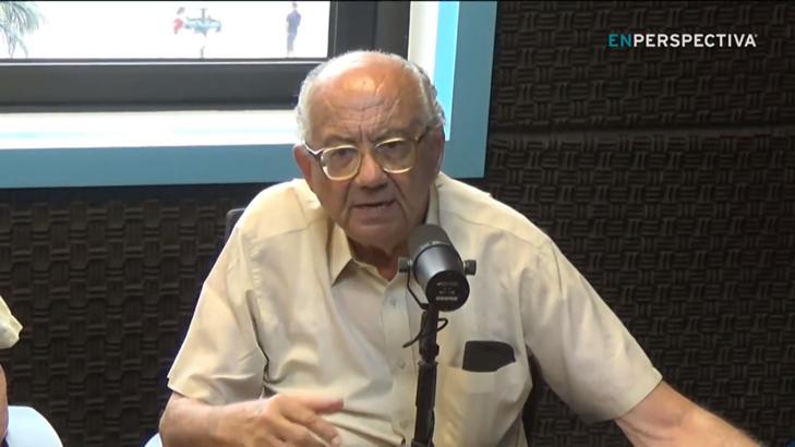 Benjamín Nahum«La gran sorpresa de mi padre, inmigrante turco, cuando llegó a Uruguay fue la educación gratuita»