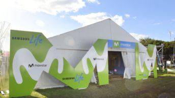 Movistar estuvo presente en la feria Expoactiva de Soriano