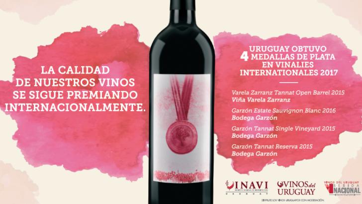 Una vez más los vinos uruguayos fueron reconocidos en Vinalies Internationales 2017