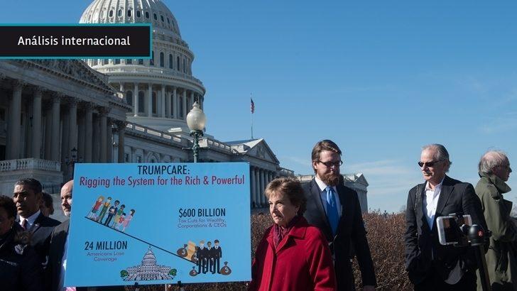 EEUU: Fracaso de la reforma del <em>Obamacare</em> en el Congreso genera incertidumbre sobre otras promesas de Trump