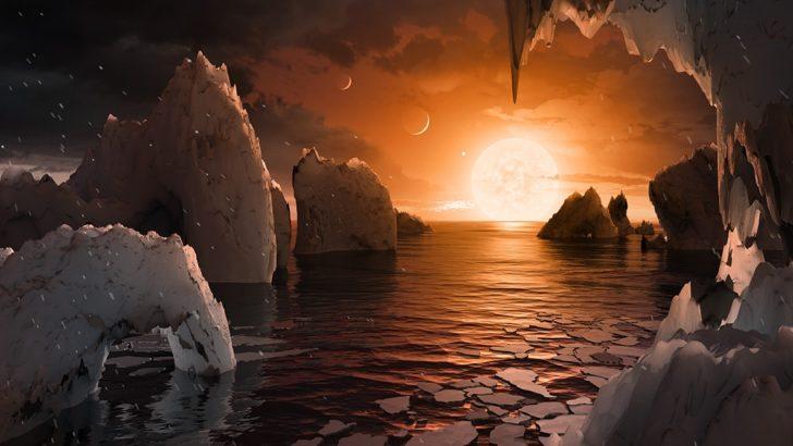 """Sistema planetario descubierto por la NASA es un """"potencial laboratorio"""" para desarrollo de la vida"""
