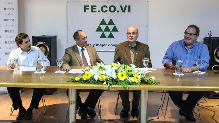 UTE y FECOVI firman acuerdo para otorgar beneficios a cooperativistas