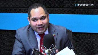 Nin Novoa recibió al embajador de Venezuela en una fría y breve reunión