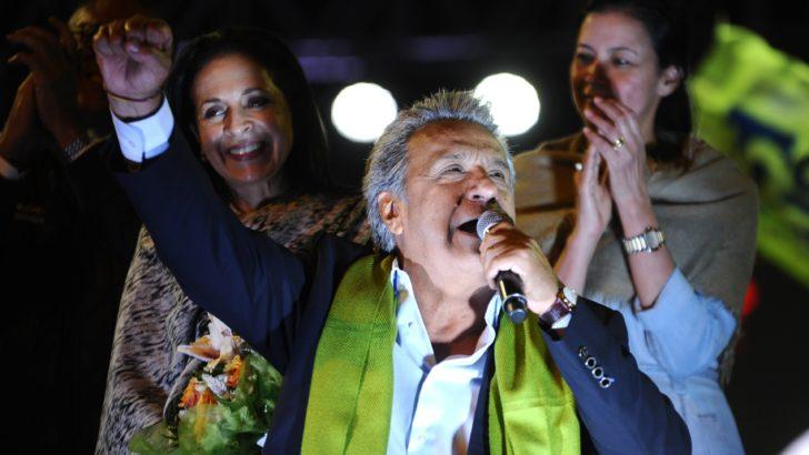 Oficialista Lenín Moreno ganó la presidencia pero candidato opositor denunciará fraude electoral