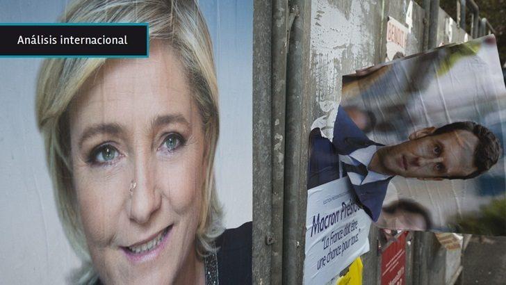 Francia: Emmanuel Macron se perfila para ser el nuevo presidente, tras una primera vuelta en la que los electores le dieron la espalda a los partidos tradicionales