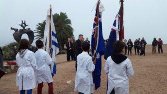Batalla de Galípoli: Conmemoración del <em>Anzac Day</em> en Plaza de la Armada