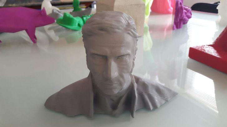 Dos arquitectos y un escultor crean archivo con réplicas digitales de monumentos