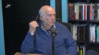 Mauricio Rosencof y su respuesta al libro <em>Huidobro: Sin remordimientos</em>