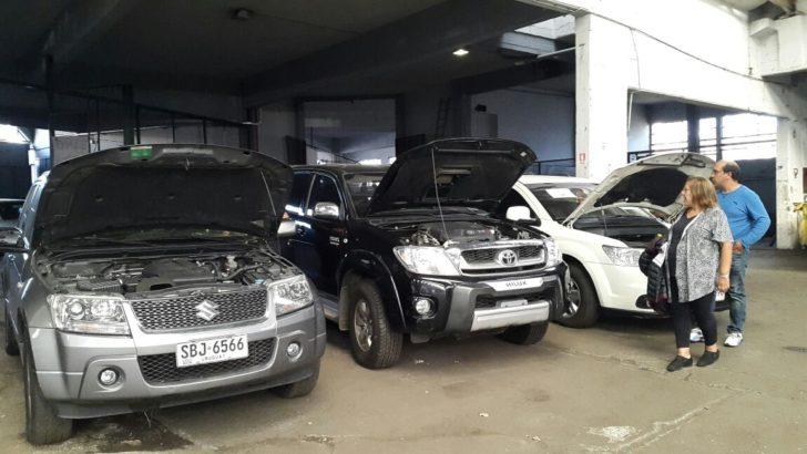 Autos, camionetas y motos en remate judicial de vehículos