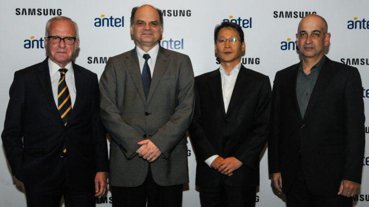 Antel: exitosa preventa del Galaxy S8 y S8+