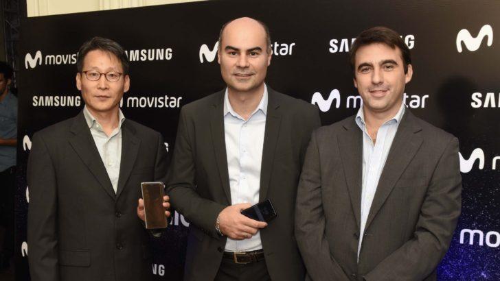 Movistar y Samsung presentaron los nuevos <em>smartphones</em> Galaxy S8 y S8+