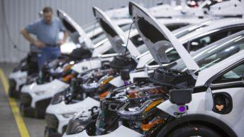 General Motors creó los primeros <em>Chevrolet Bolt EV</em> de conducción autónoma