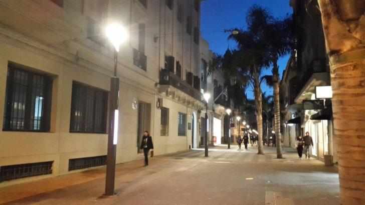 Las nuevas luces de la Peatonal Sarandí