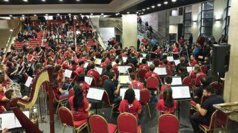 Filarmónica juvenil de Boston brindó un concierto en Montevideo
