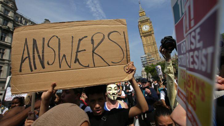 Contacto desde Londres: Ciudadanos británicos se manifiestan en el «día de la rabia»