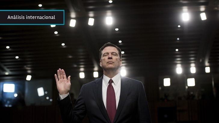 EEUU: Ex director del FBI confirma intervención rusa en las elecciones y abre la puerta para indagar si Trump intentó obstruir una investigación