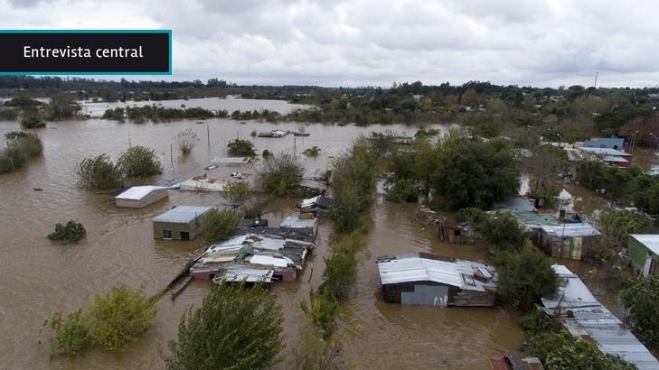 """Intendencia de Salto busca liberar del uso residencial a las zonas inundables pero se enfrenta a una """"cultura"""" de parte de la población que """"eligió convivir"""" con las crecidas"""